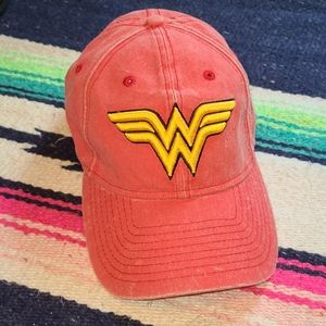 WONDER WOMAN Embroidered Hat Cap